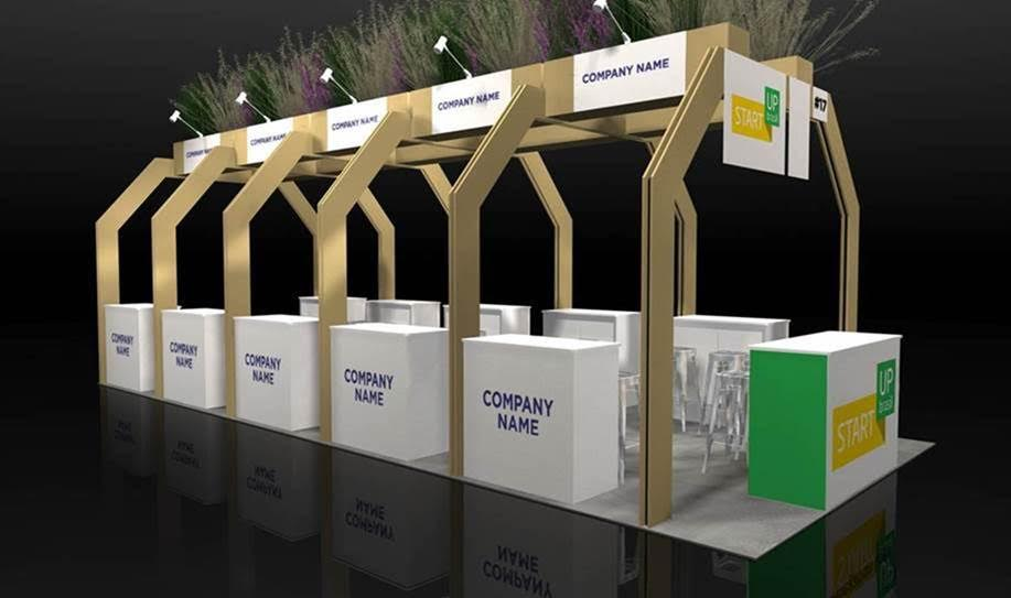 Shared exhibitor space