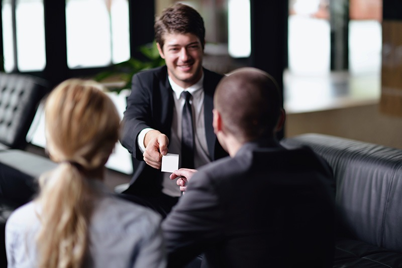 Lični kontakt na konferenciji