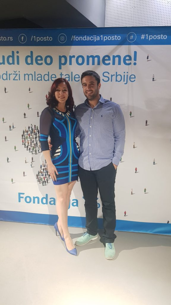 SerbianTech during Foundation 1% gala evening