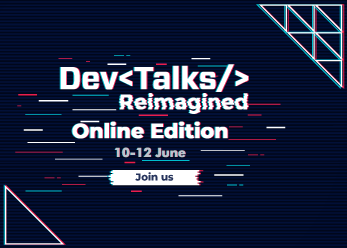 DevTalks moves online in Reimagined edition