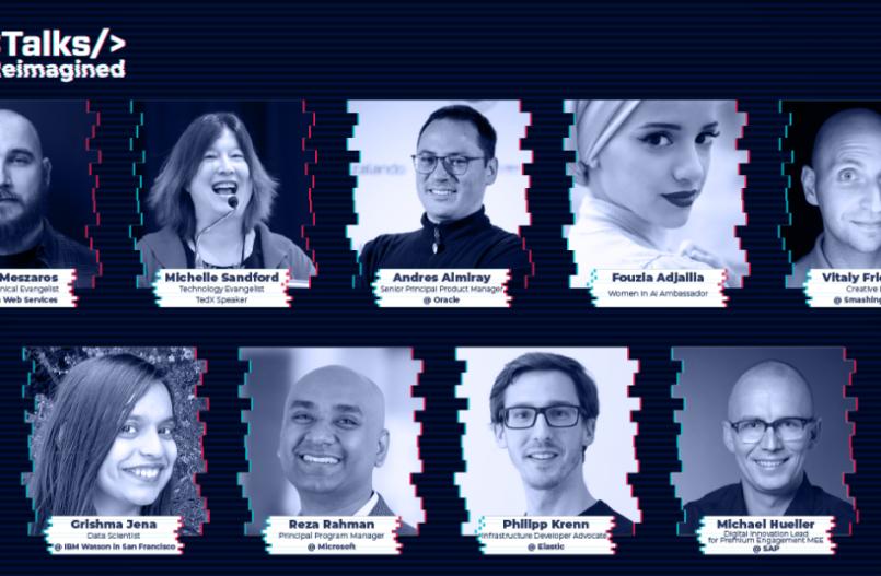 Speakers on DevTalks Reimagined 2020