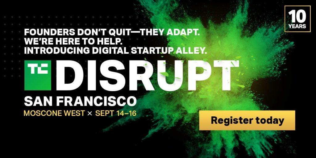 TechCrunch Disrupt partner