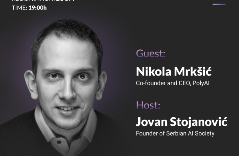 Nikola Mrkšić PolyAI on Talking Minds webinar