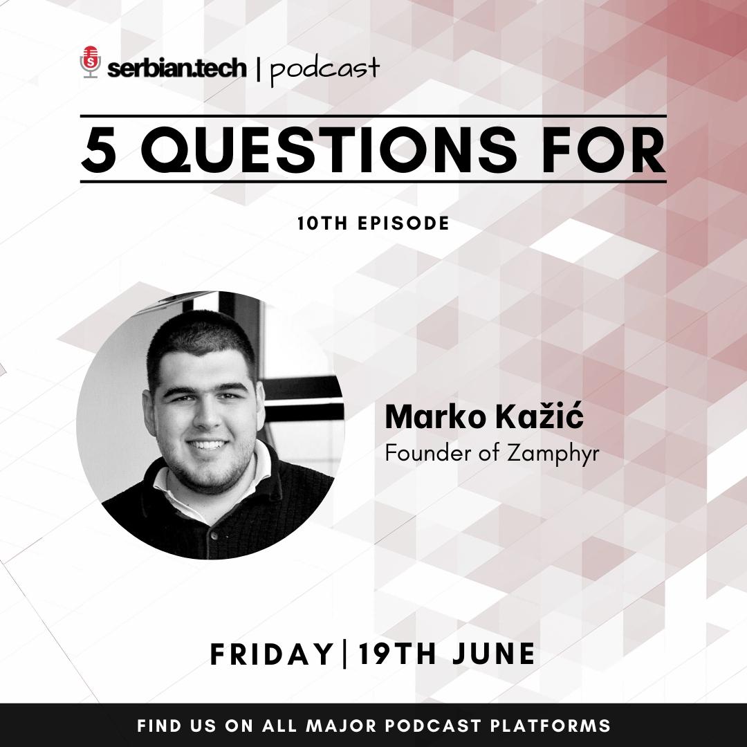 Marko Kazic podcast image