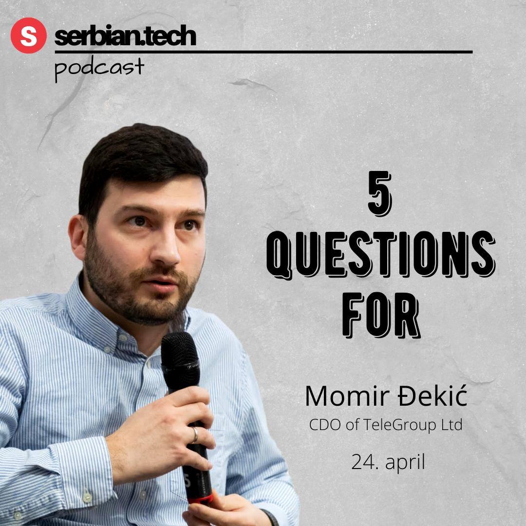Momir Djekic podcast image