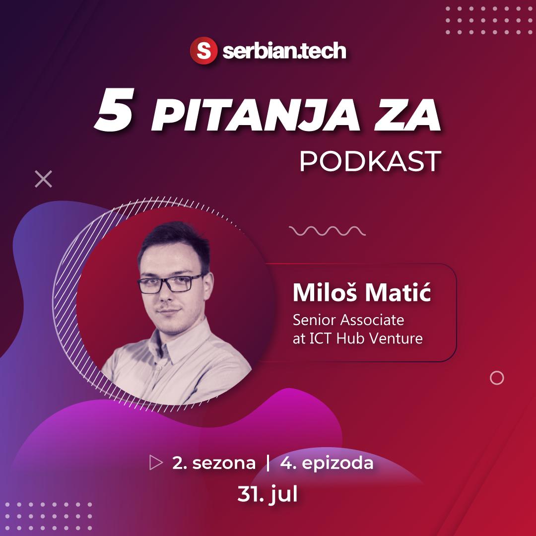 5 pitanja za... Miloša Matića