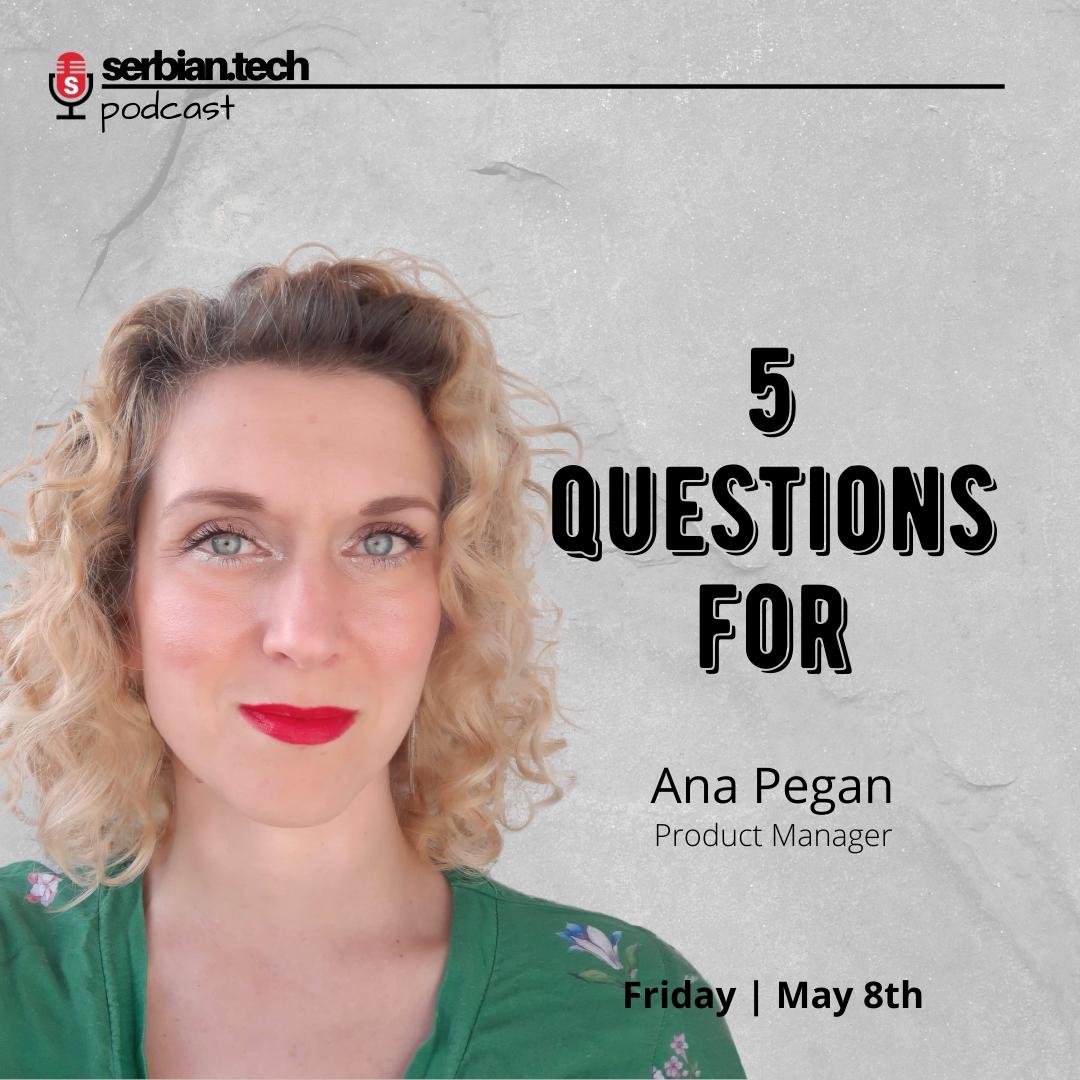 Ana Pegan podcast image