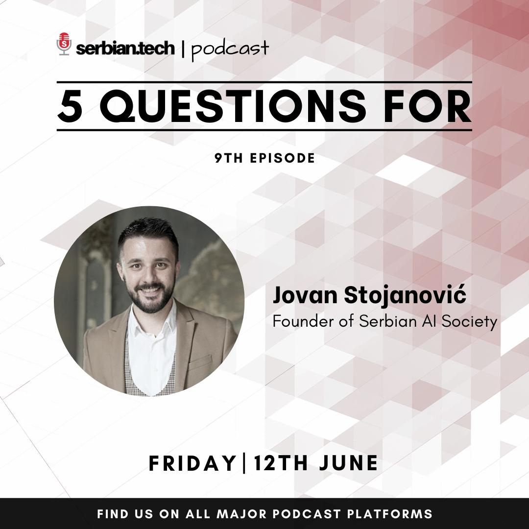Jovan Stojanovic podcast image