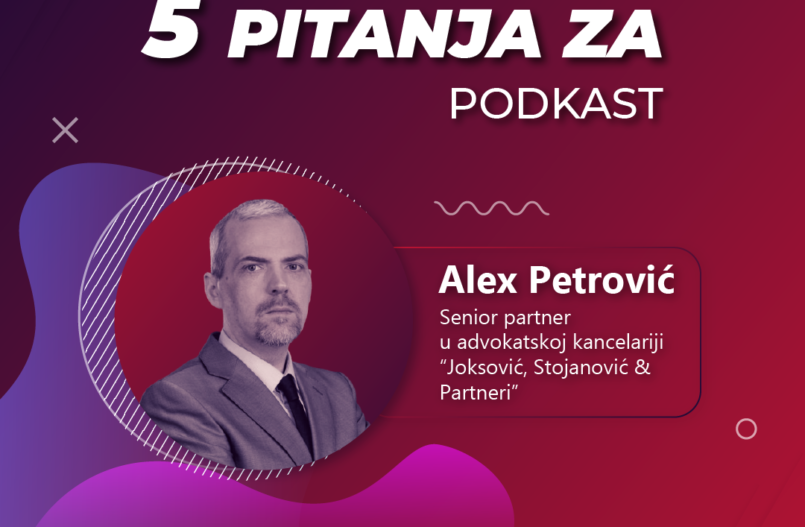 5 pitanja za... Alexa Petrovića